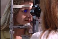 A slit lamp can detect corneal disease at an early stage